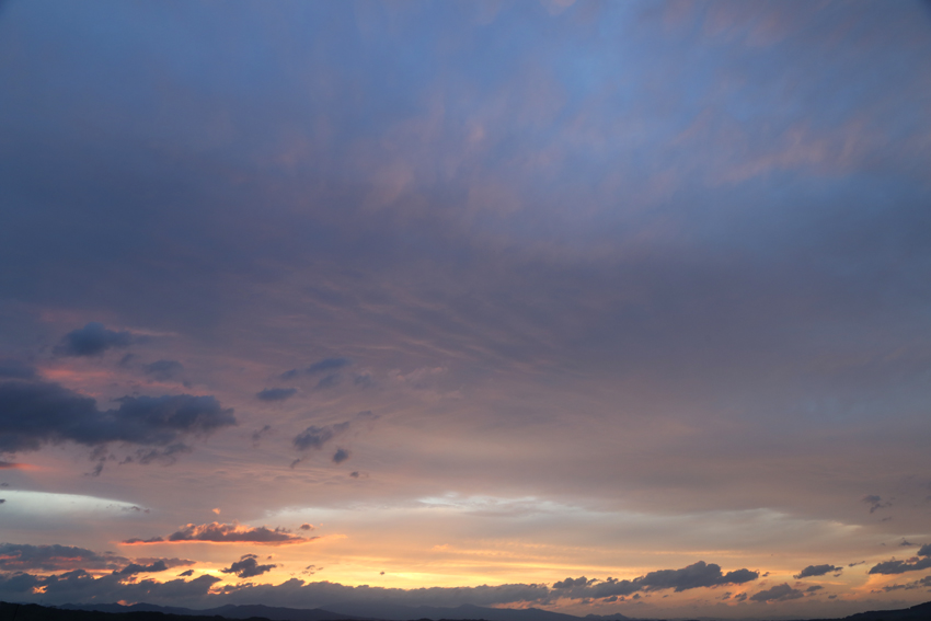 20160625夕焼け雲10