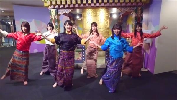 乃木坂46「遥かなるブータン」Music Video