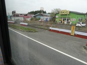 富岡町 6号線 帰還困難区域4(ぼかし)