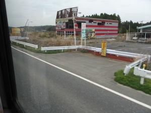 富岡町 6号線 帰還困難区域5