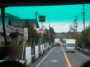 国道6号 大熊町 バリケード1(ぼかし)