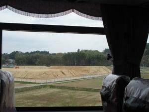 富岡町 除染が終わった後にいれる土山