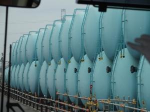 事故初期汚染水タンク(現在使用していない)
