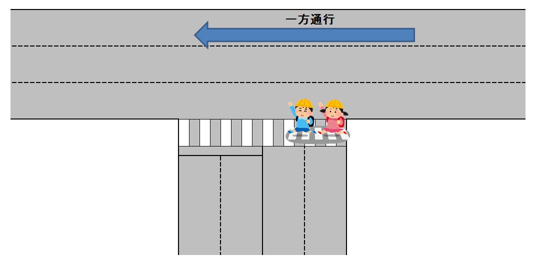 横断歩道図
