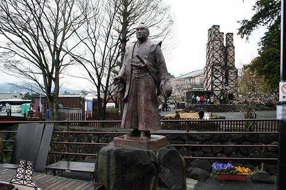 静岡県韮山町 明治日本の産業革命遺産反射炉 江川太郎左衛門像