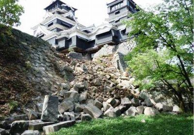 熊本城崩壊