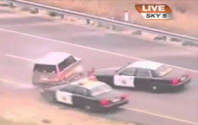 アメリカ警察 日本ではあり得ないスピード違反追跡、逮捕 Part 1 (アメ車情報MAG Fastline)
