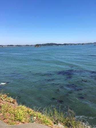 七ヶ浜の海