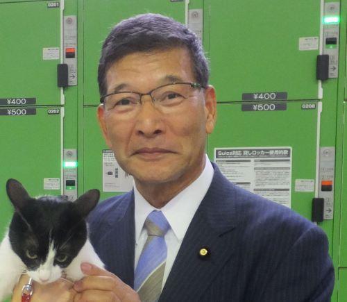 参議院議員 小泉昭男先生 500