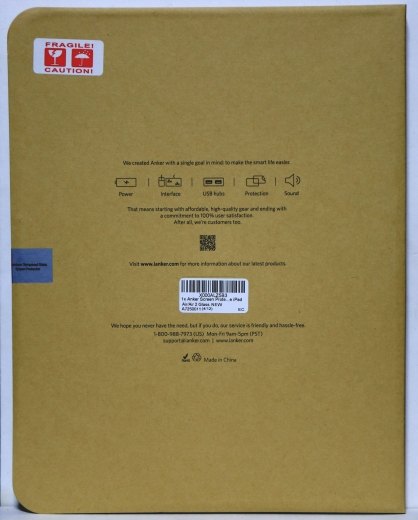 ANKER iPad Pro 9.7 保護ガラス 05