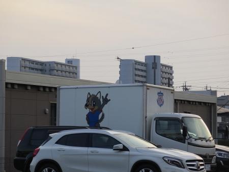 ヴァンフォーレ甲府のトラック