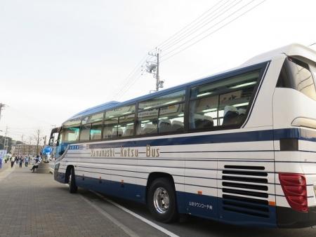 甲府のバス