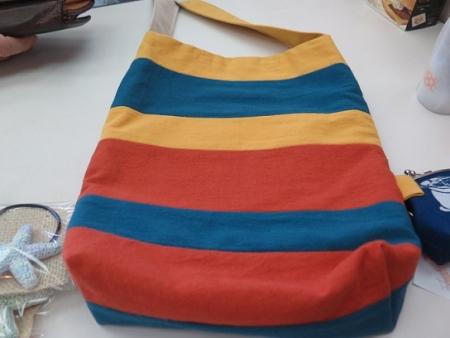 てしごとやさんの布バッグ