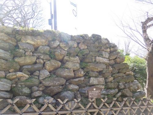 浜松城公園 石垣
