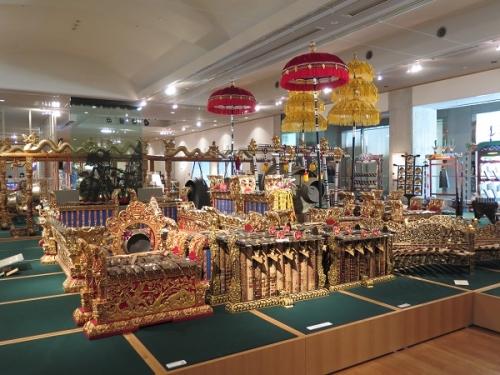楽器博物館 ガムラン