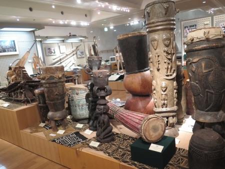楽器博物館 アフリカの楽器