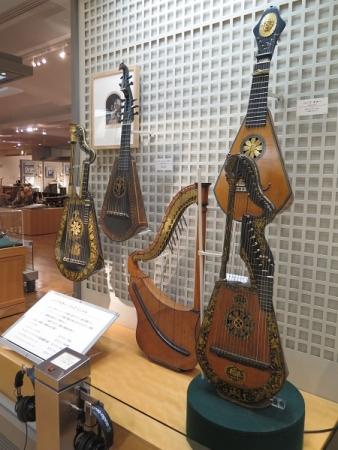 楽器博物館 ハープギター,ハープリュート