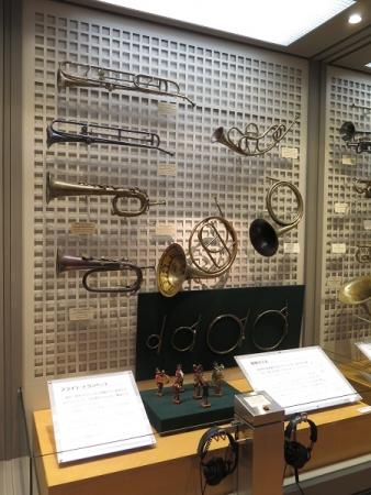 楽器博物館 スライト・トランペット