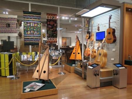 楽器博物館 南米の楽器
