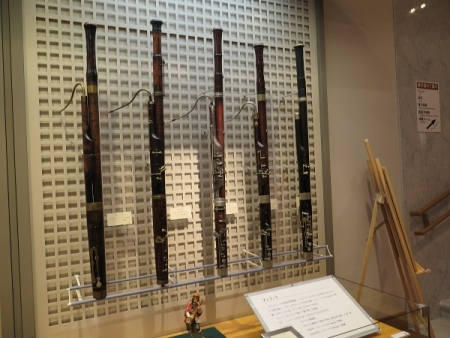 楽器博物館 ファゴット