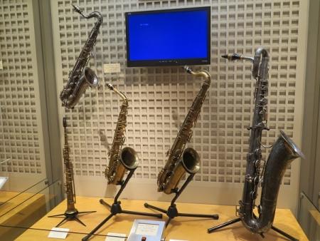 楽器博物館 アルト・サクソフォン