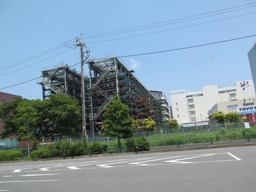 台車タワー