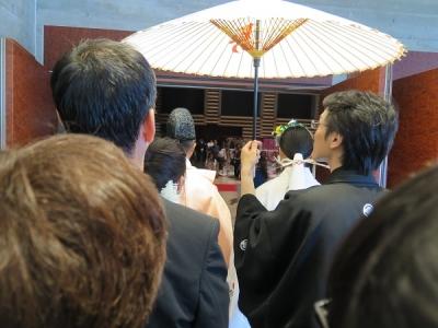 いよいよ結婚式