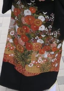菊のすそ模様