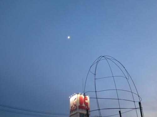 道の駅婚の終わった夕方