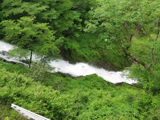 日光 華厳の滝 涅槃の滝
