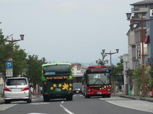 東武日光駅前 バス