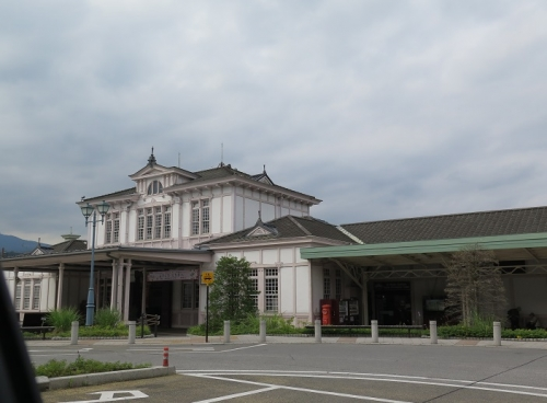 JR日光駅 丸ポスト