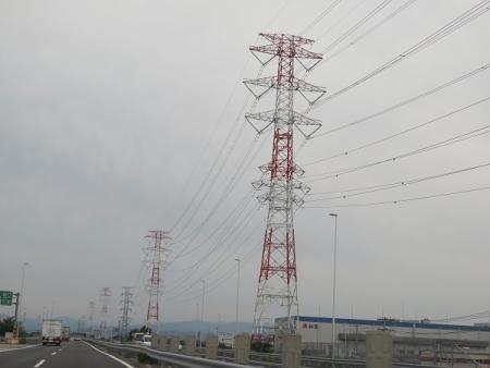 圏央道 鉄塔