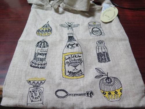 haconobaさんで買った麻布バッグ(^^*)