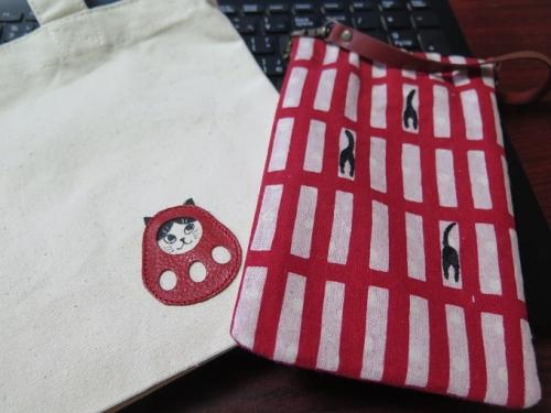 刺繍 de ねこ展♥