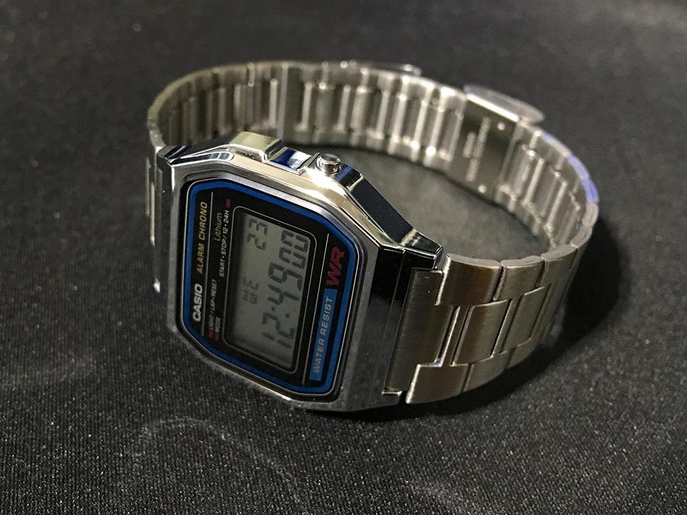 CASIO 腕時計 A158WA-1JF_1