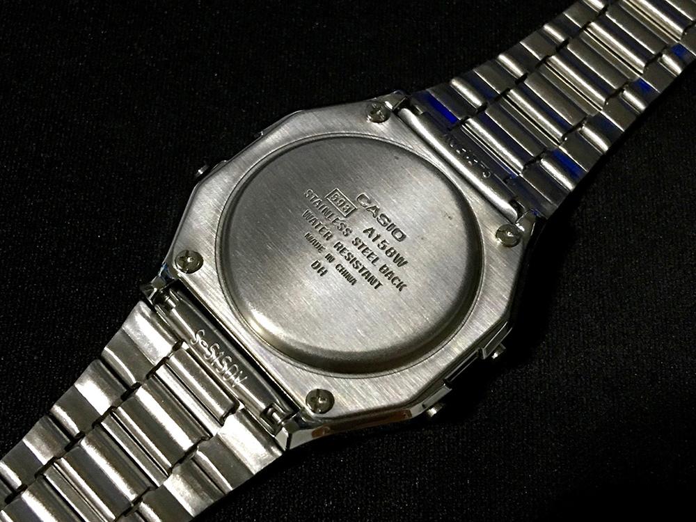 CASIO 腕時計 A158WA-1JF_3
