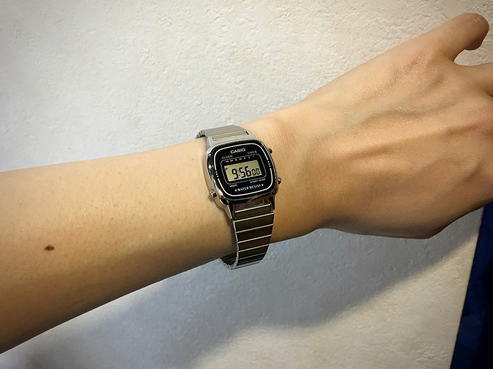 CASIO 腕時計 LA-670WA-1JF_4