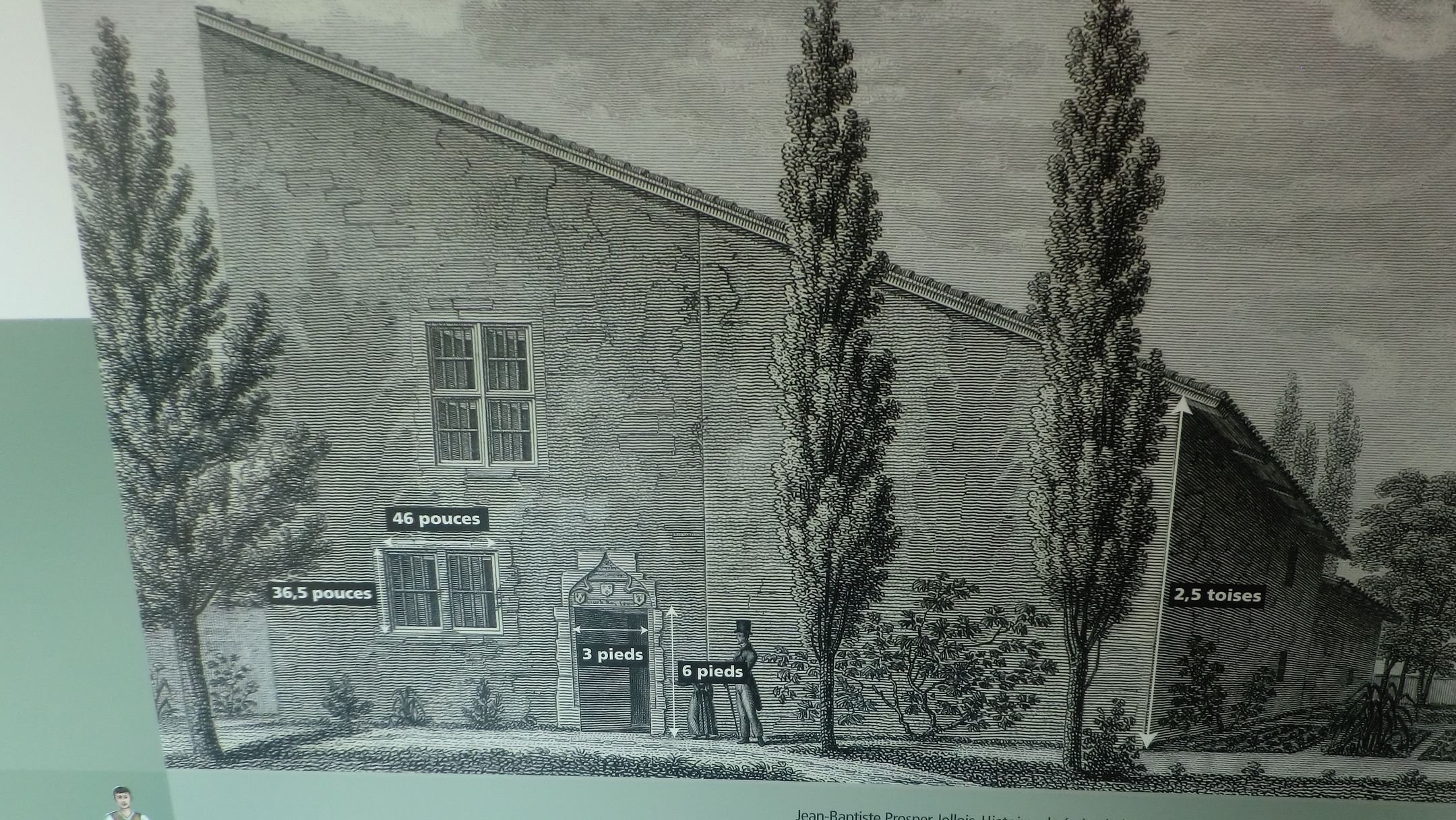ジャンヌの家の図