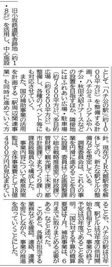 覚書:秋田犬DMO進捗状況 4