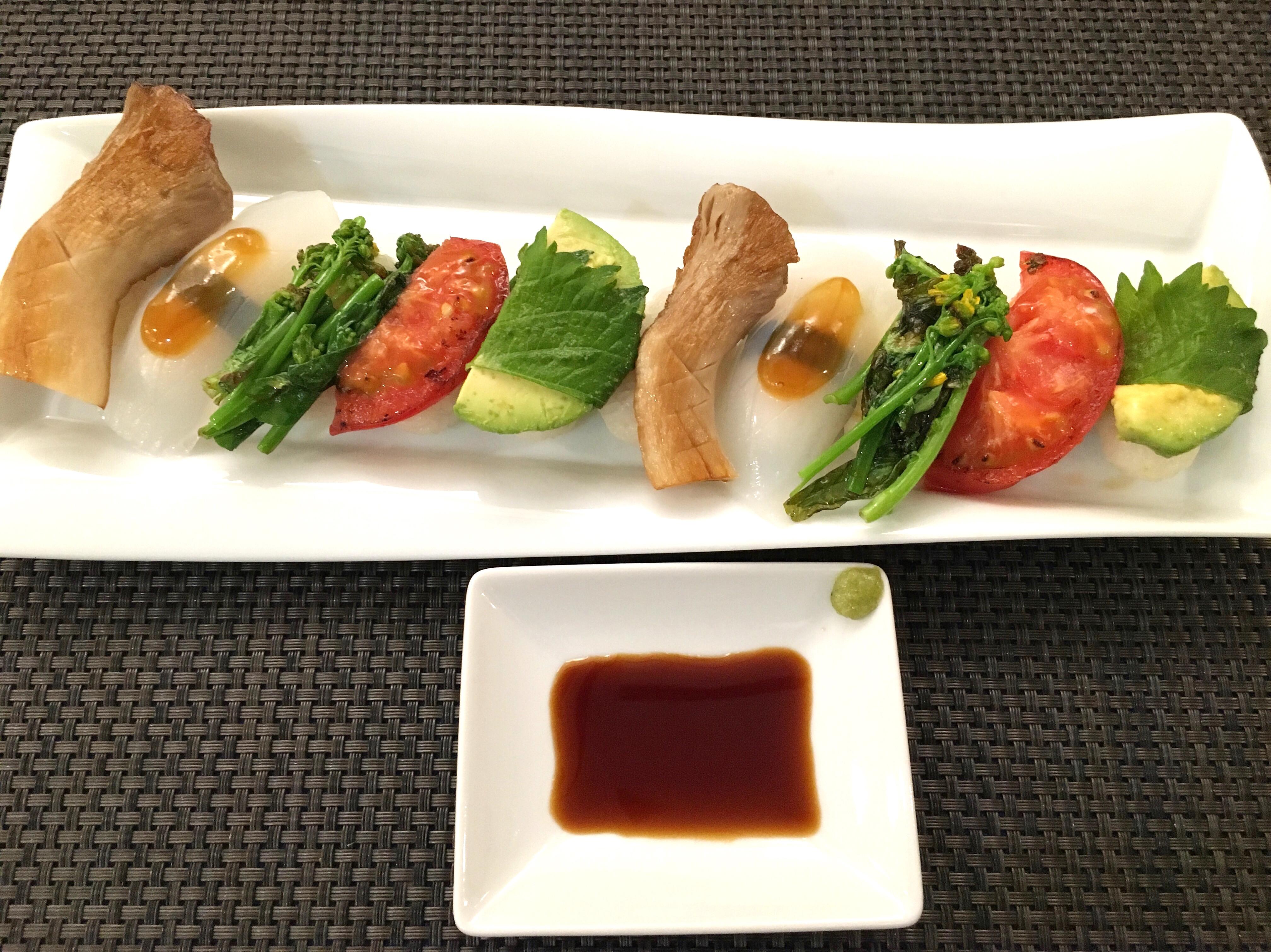 ORIBIO野菜寿司