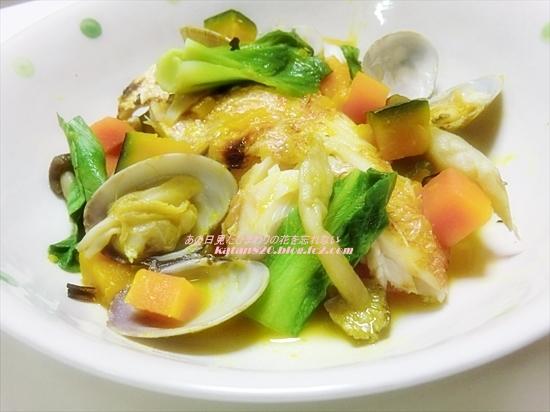 野菜たっぷり鯛のアクアパッツァ風♪