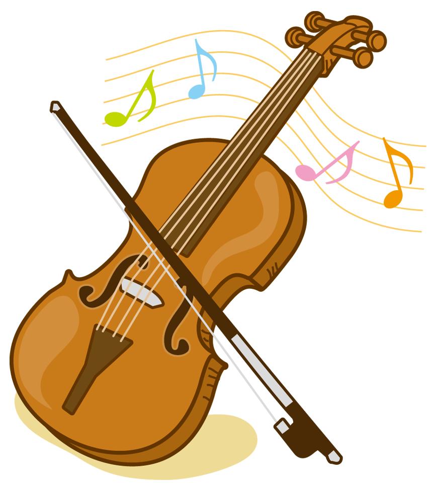ヴァイオリンイラスト