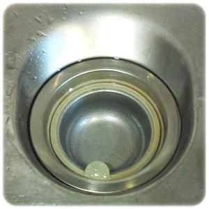 排水口掃除後2