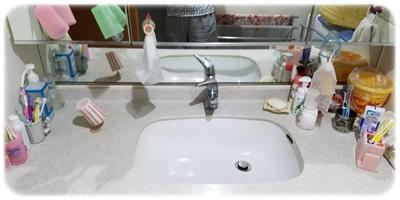 洗面台アフター