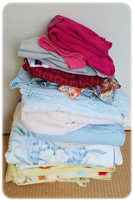 毛布類の27個捨てる