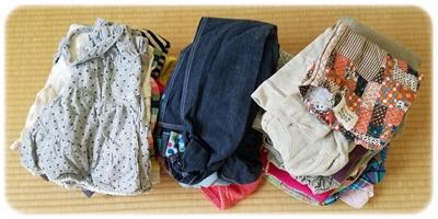 27個捨てるミッションの子供服