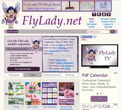 フライレディのサイト