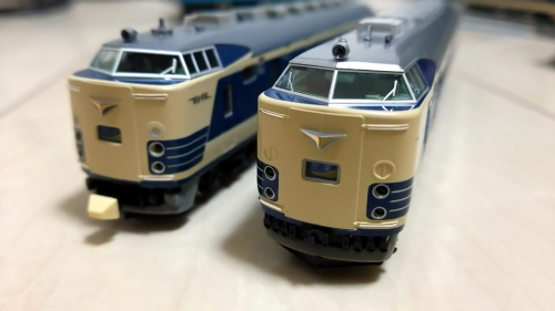 KATO 581系 (2)