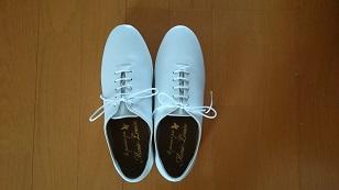 160501白いひも靴
